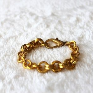 Jewelry - Double Chain Gold Bracelet